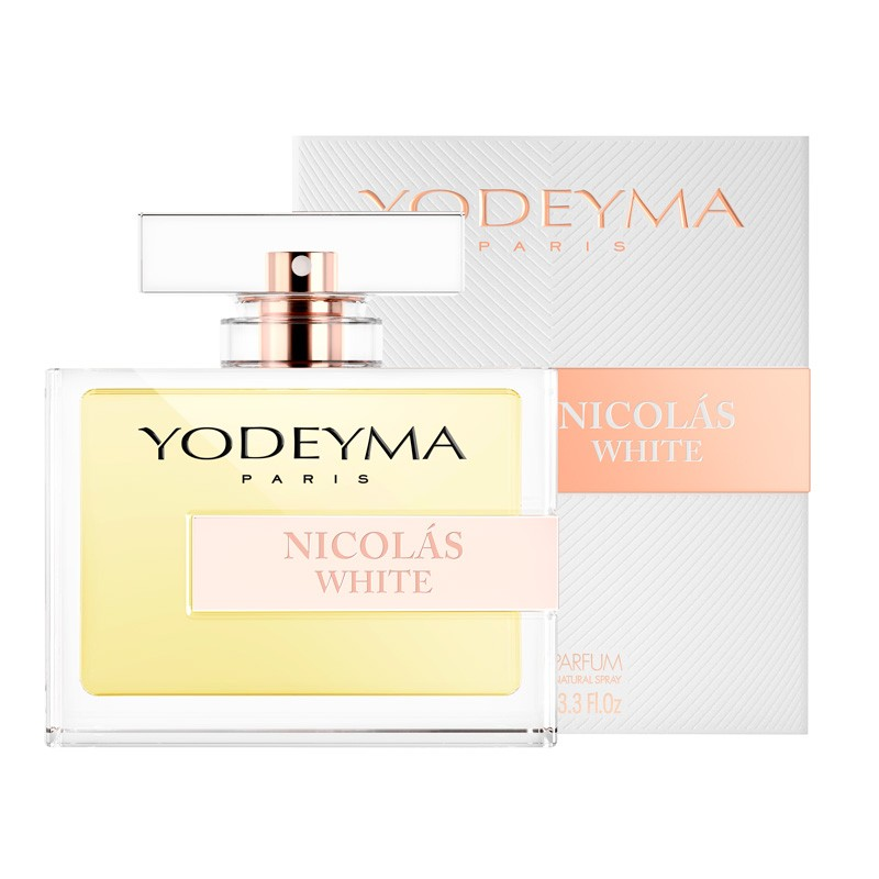 Yodeyma nicolas white fragrance bottle 100ml