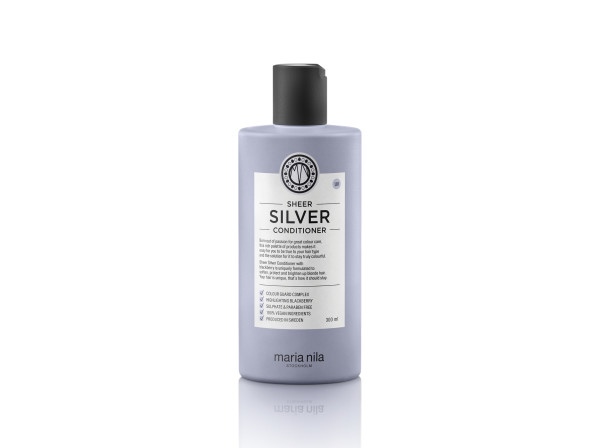 Maria nila sheer silver conditioner bottle